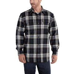 Hubbard Heavy Plaid Flannel Shirt by Carhartt 101749-001