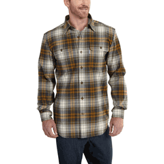 Hubbard Heavy Plaid Flannel Shirt by Carhartt 101749-211
