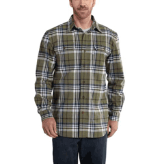 Hubbard Heavy Plaid Flannel Shirt by Carhartt 101749-387