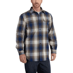 Hubbard Heavy Plaid Flannel Shirt by Carhartt 101749-988