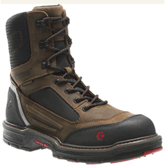 Overman 8 inch Comp Toe WP boot by Wolverine 10487