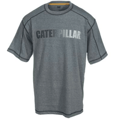 Cat Apparel Short Sleeve Gradient Logo Tee