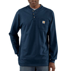 Carhartt Long Sleeve Henley T-Shirt K128