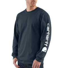 Signature Sleeve Graphic LS Tee by Carhartt K231