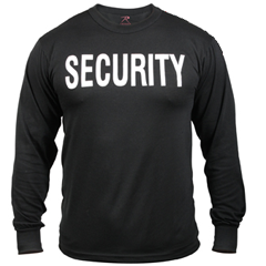 Security Tee Shirt Long sleeve